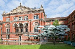 """El Museo Vistoria & Albert presenta el """"Pabellón de filamento Elytra"""""""