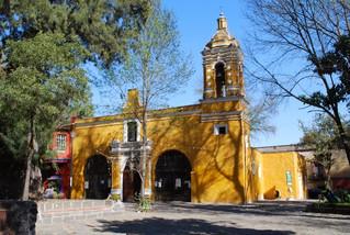 ¿Por qué Santa Catarina es considerada una de las capillas más hermosas de Coyoacán?