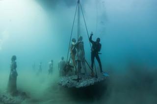 Un asombroso museo bajo el agua