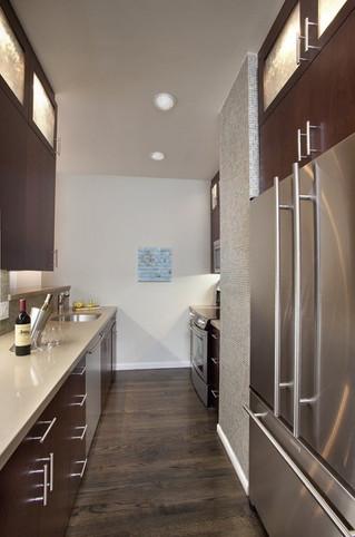 Cómo resaltar una cocina pequeña con grandes ideas.
