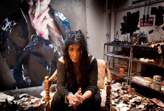 Lita Cabellut, la indigente que se convirtió en la artista más cotizada del mundo.