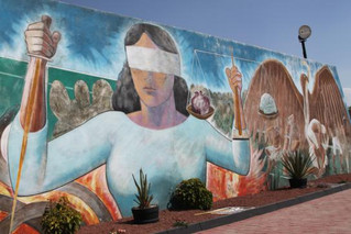 Hernández Delgadillo,  Viste de Murales Huasca