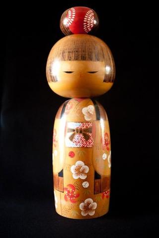 El increible arte de las muñecas Kokeshi