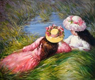 Renoir y sus pinturas impresionistas.
