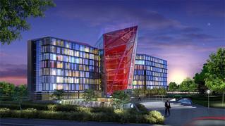 Edificio de Cristal de la Compañía Minsk.