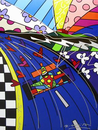 Nuevo cubismo + Arte pop = Romero Brito