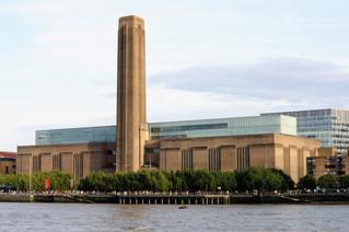 Tate Modern una central eléctrica que ahora es un Museo.