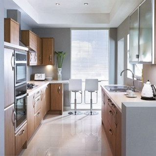 Cocinas con Barra, una alternativa para espacios pequeños.
