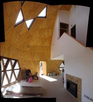 ¿En qué consiste una casa Geodésica?