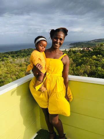 Thembi & little Lilhele