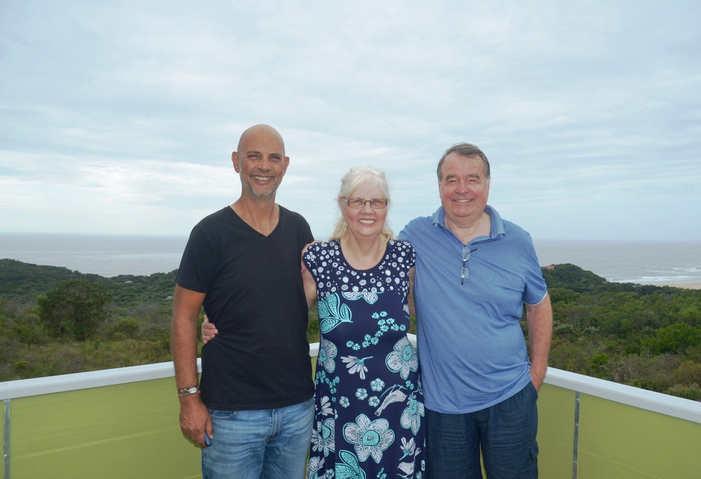 Louf & parents Annemarie & Paul