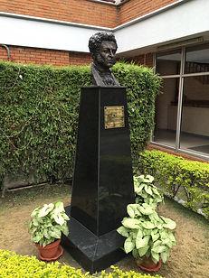 А.С.Пушкин в Катманду, скульптор Г.В.Потоцкий