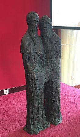 Русские просветители Кирилл и Мефодий в Пекине, скульптор Г.В.Потоцкий