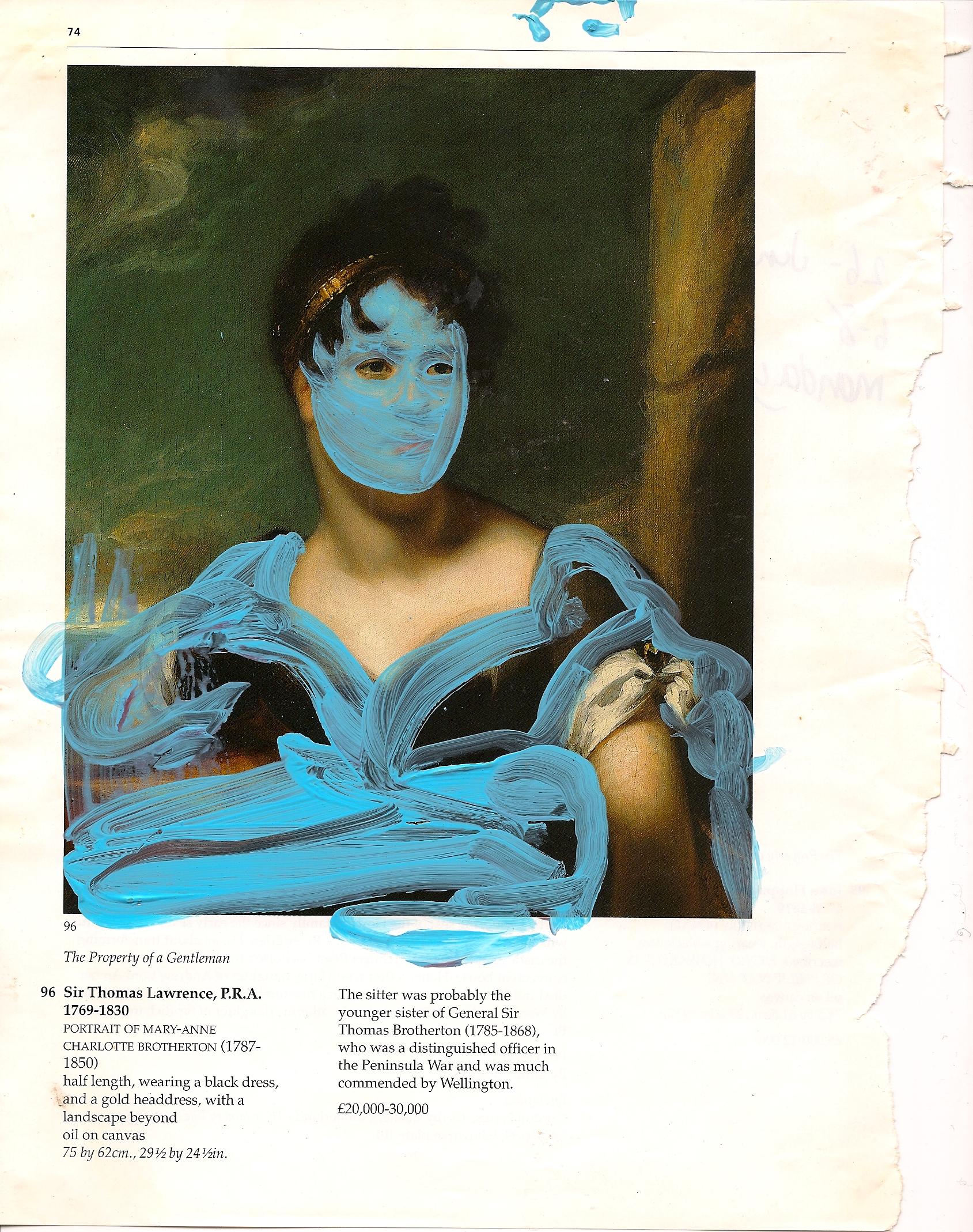 Property of an Estate (Blue Mask)