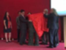 Открытие памятника Кириллу и Мефодию в Пекинском Университете