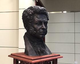 А.С.Пушкин в Харбине, скульптор Г.В. Потоцкий