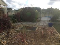 circle in garden