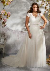 Larita Plus Size Wedding Dress