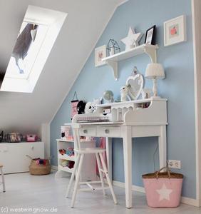 In 7 Schritten ein Kinderzimmer mit Schräge einrichten ...