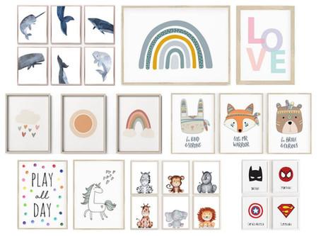 Friday Favourites: Bilder für Kinderzimmer zum Ausdrucken – die schönsten Motive