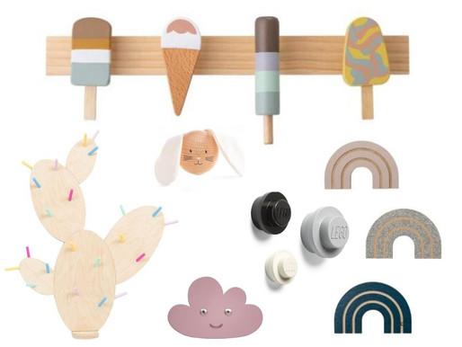 Friday Favourites: Ordnung im Kinderzimmer: Kleiderhaken für jeden Geschmack