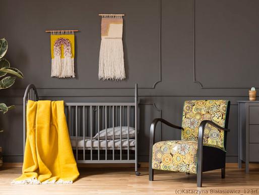 Ein Kinderzimmer in grau-gelb gestalten – so gelingt es