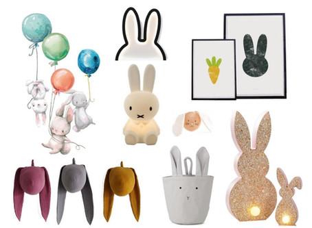 Friday Favourites: Ein Hase im Kinderzimmer – Osterdeko und mehr