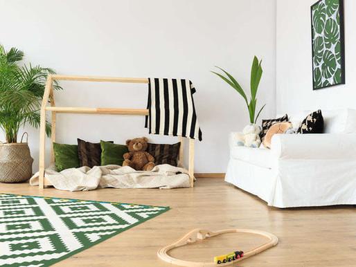 Wie du ein grünes Kinderzimmer einrichtest – das musst du wissen