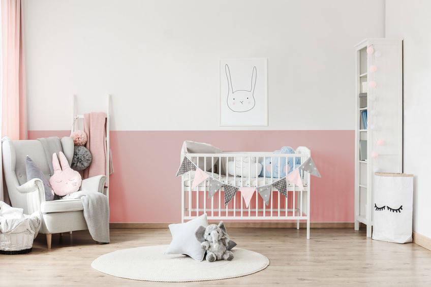 Wand Streichen Muster Ideen Kinderzimmer - Wand streichen ideen