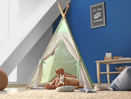 In 7 Schritten ein Kinderzimmer mit Schräge einrichten - worauf du achten solltest