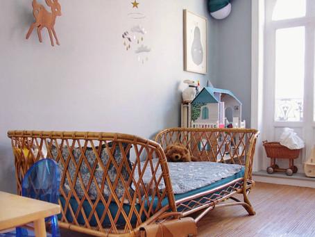 Ein Mädchenzimmer in blau – wie eine harmonische Gestaltung gelingt