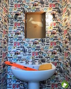 wallpaper Installation  #greenapplepaint