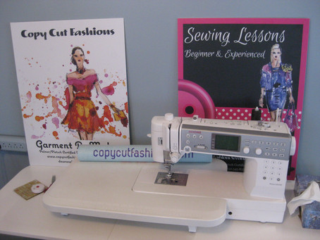 Sewing: A mess, is a mess, is a mess!