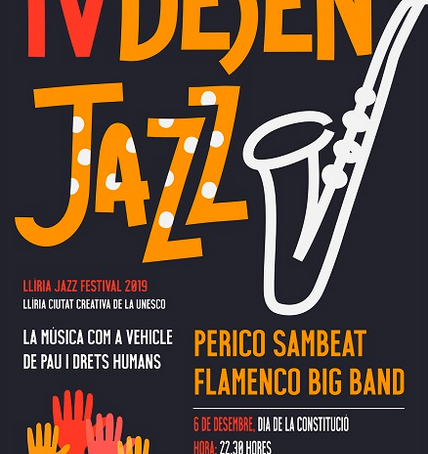 PERICO SAMBEAT FLAMENCO BIG BAND live at Lliria