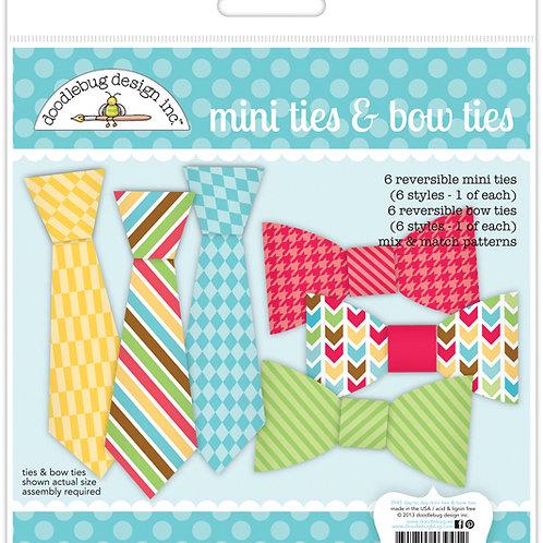Mini ties & bow ties