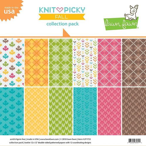 """Knit picky 12"""" x 12"""""""