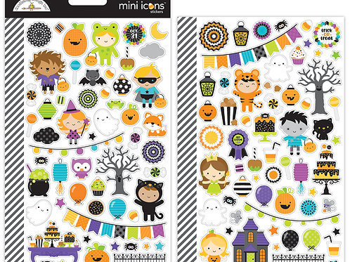 Mini icons Pumpkin Party