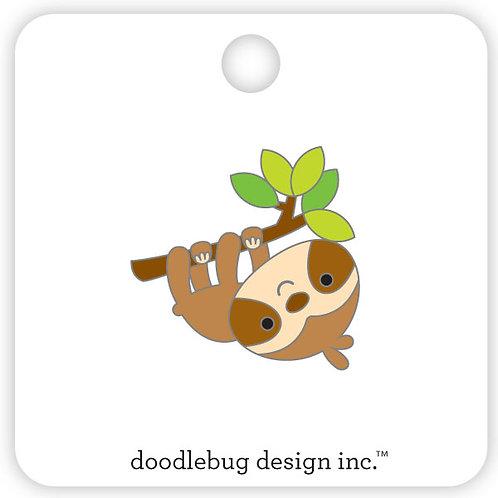 Sloth collectible pin