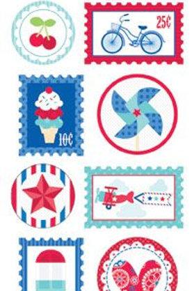 doodle seals star & stripes