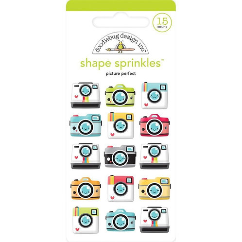 Picture perfect shape sprinkles