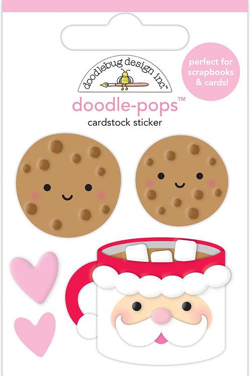 Cookies for santa doodle-pops