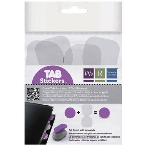 Circle Tab stickers
