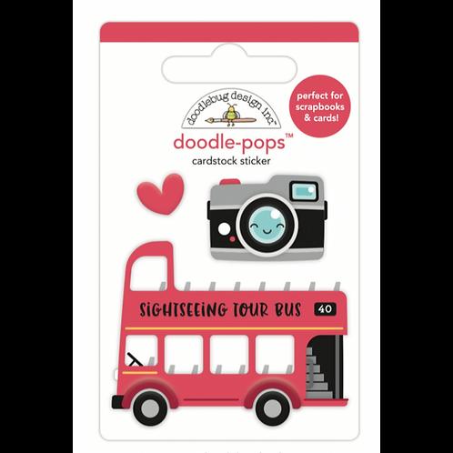 Double decker doodle-pops
