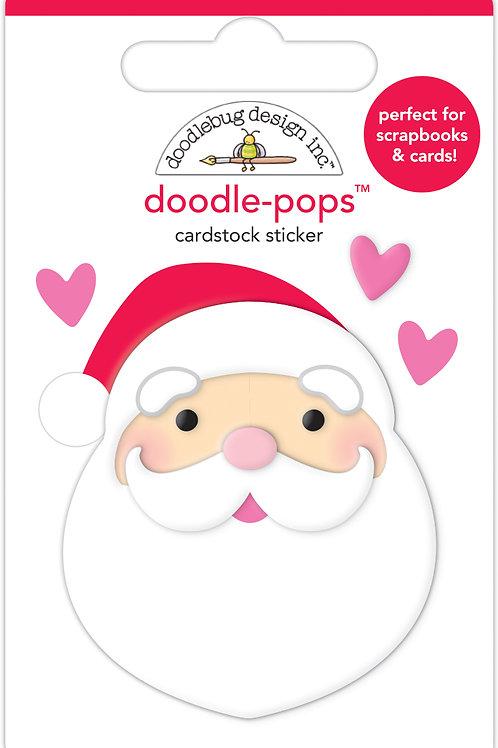 I love santa doodle-pops