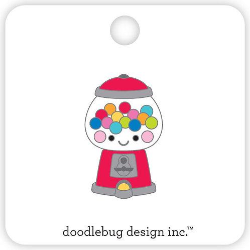 Bubblegum machine collectible pin