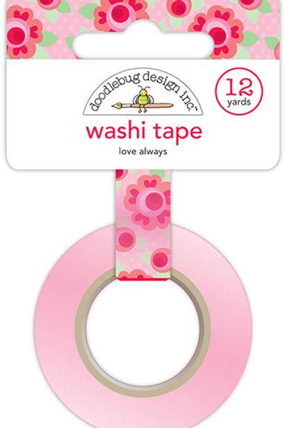 washi tape love always