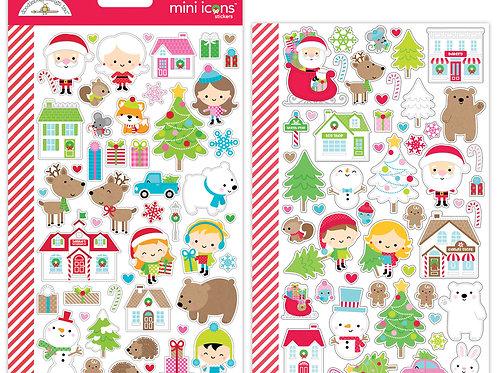 Christmas town mini icons