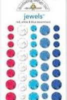 jewels red, white & blue assortment