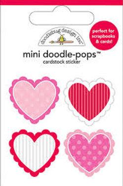 mini doodle-pops valentines