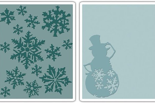 Snow Flurries & Snowman Set